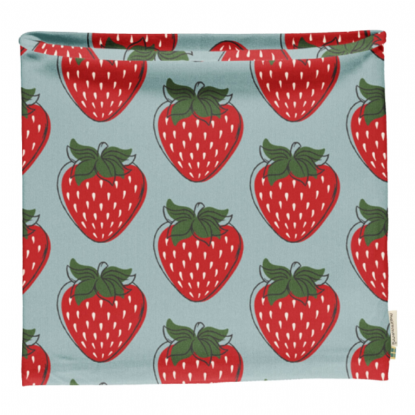 Maxomorra Strawberry Tube Scarf